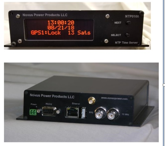 NTP Time Server with Embedded 26 Channel Receiver, PPS and 10 MHz Reference-NTP0100 Image